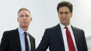 Jim Murphy and Ed Miliband