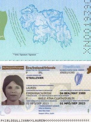 Irish passport