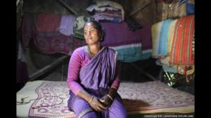 Usha Rami Kathuria, 33, Jharkhali, Basanti Island, West Bengal, India.