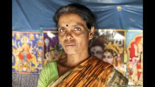Laxmi Dhali, 44, Jharkhali, Basanti Island, West Bengal, India
