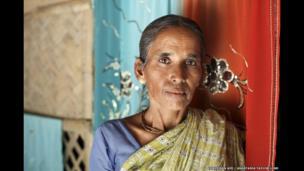 Minati Roy, 42, Jharkhali, Basanti Island, West Bengal, India