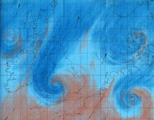 The birth of the weather forecast - BBC News