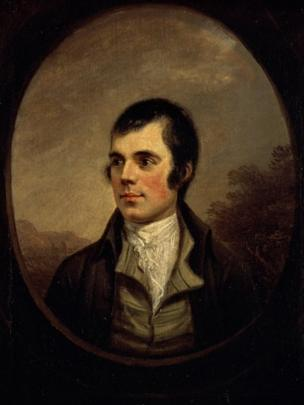 Robert Burns (1787), by Alexander Nasmyth