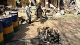 Sojoji sun sha alwashin murkushe Boko Haram