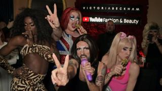 Drag act The Spice Gurrls