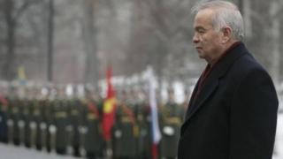 Марҳум Ислом Каримовнинг Москвага ташрифи пайти олинган фотосурати.