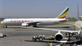 An Ethiopian airliner - archive pic