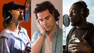 Rita Ora, Kelly Jones and Stormzy