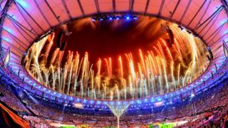 Cerimônia encerramento Rio