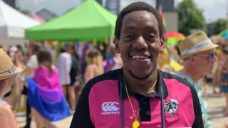 Kenneth Macharia, member of Bristol Bisons RFC
