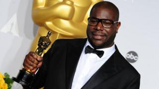Steve McQueen at the 2014 Oscars