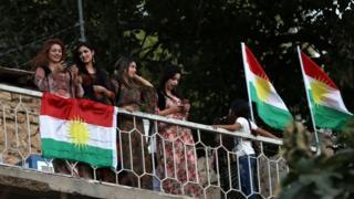 Iraklı Kürtler referandum planına destek veriyor.