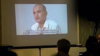 कुलभूषण जाधव का वीडियो