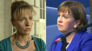 Martina Anderson and Diane Dodds