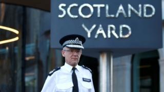Jefe de unidad antiterrorista de Scotland Yard.