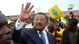 Gabon opposition leader Jean Ping. File photo