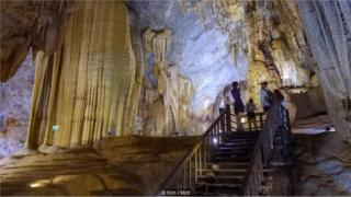 Ba trong số bốn hang động lớn nhất thế giới nằm ở tỉnh Quảng Bình.