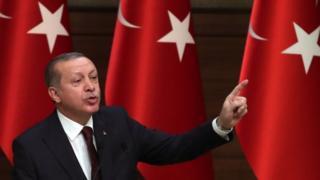 Cumhurbaşkanı ve AKP Genel Başkanı Recep Tayyip Erdoğan