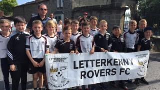 Letterkenny Rovers are one of a number of teams from County Donegal