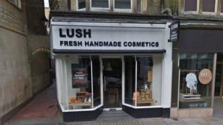 The Lush store in Oxford