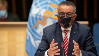 WHO head Tedros Adhanom Ghebreyesus (file photo)