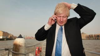 İngiltere Dışişleri Bakanı Johnson