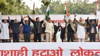 राजधानी दिल्ली में अरविंद केजरीवाल की रैली