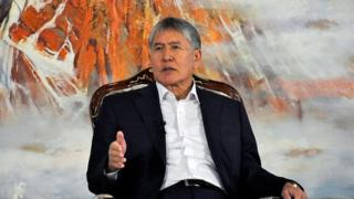Kyrgyzstan president: 'Women in mini skirts don't become suicide bombers'