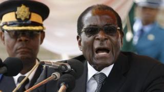 Mugabe alijiuzulu nafasi ya urais Novemba mwaka jana baada ya shinikizo la jeshi la nchi hiyo