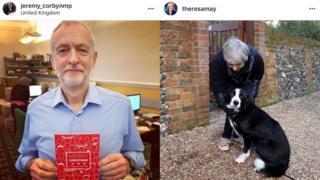 Jeremy Corbyn/Theresa May