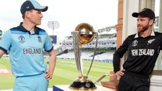 इंग्लैंड और न्यूज़ीलैंड के कप्तान