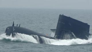 中國海軍的新型潛艇