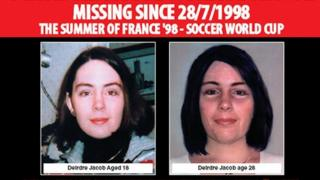 Missing poster: 10 year appeal for Deirdre Jacob