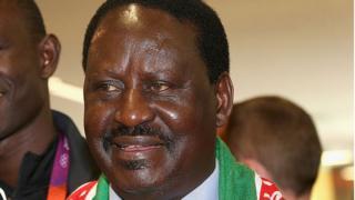 Odinga, 72 ans, est le principal rival du président Uhuru Kenyatta, 55 ans.