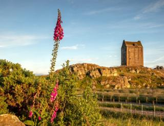 Smailholm Tower by Kelso