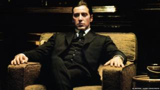Al Pacino as Michael in The Godfather