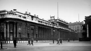 The old Bank of England in 1922