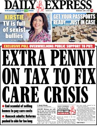 Daily Express 3 June