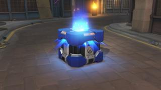 Loot box in the game Overwatch