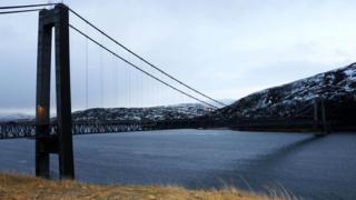 Норвежская область Финнмарк лежит за Полярным кругом