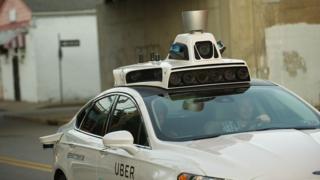 Uber sürücüsüz araç teknolojisi