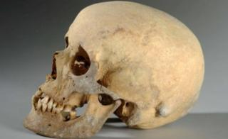The Skull of the Iron Age woman