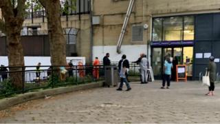Scene of shooting, Camden