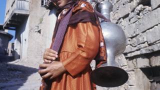 Девушка в Дагестане