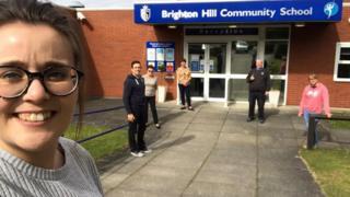 Brighton Hill teachers
