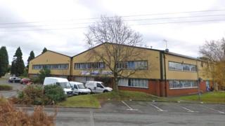 Ambulance service headquarters at St Leonards Hospital