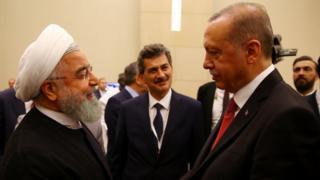 اردوغان و روحانی