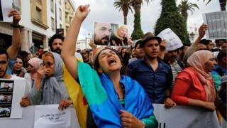 مظاهرات منددة بالأحكام الصادرة ضد نشطاء حراك الريف