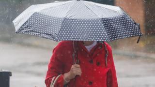 Heavy rain alert for Wales on Sunday