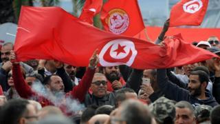 مئات الآلاف من التونسيين شاركوا في إضراب الخميس الماضي